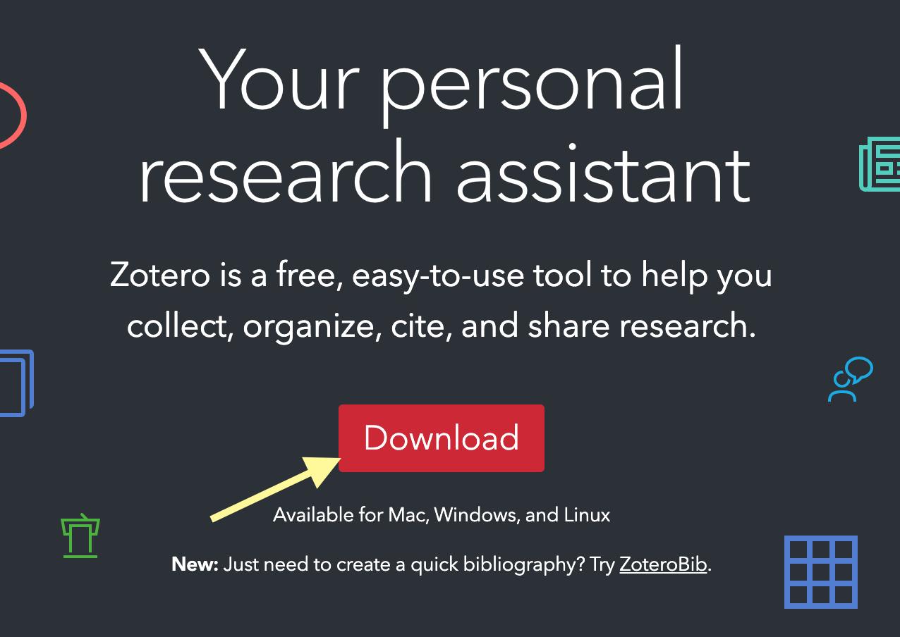 Download Zotero Visual Screenshot