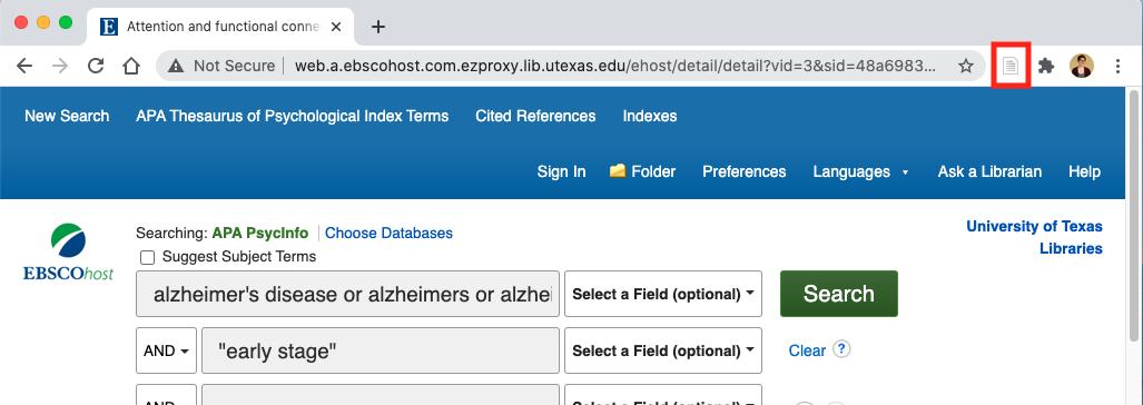 Ebsco Database Visual Example