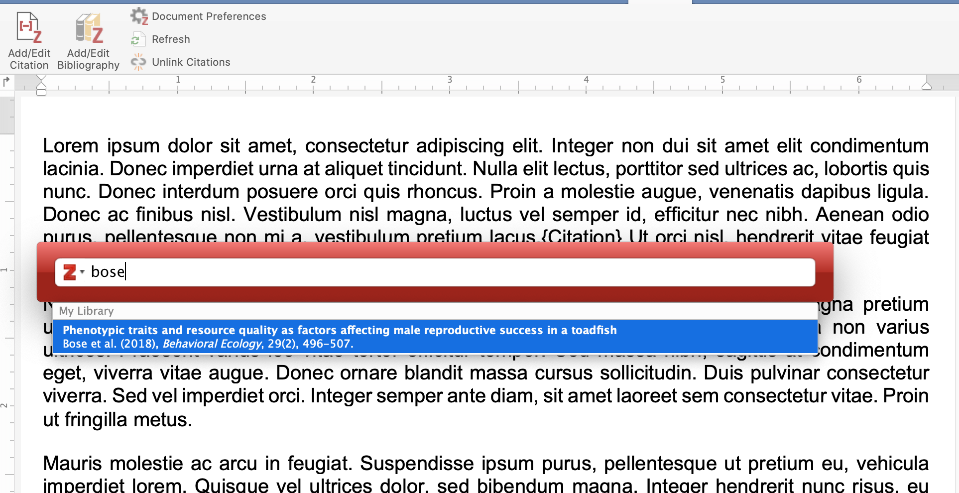 Type citation visual example