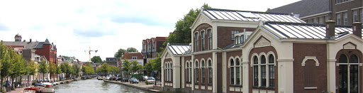 Photograph of Webster Leiden campus