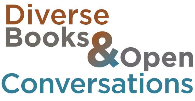 Diverse Books & Open Conversations logo