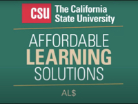 Getting Started with Affordable Learning Solutions [title card]