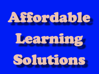 Affordable Learning Solutions [title card]