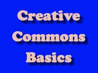Creative Commons Basics [title card]
