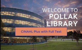 CINAHL Plus video title card