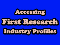 Accessing First Research Industry Profiles [title card]