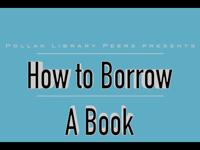 How to Borrow a Book [title card]