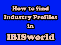 How to find Industry Profiles in IBISworld [title card]