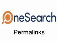 OneSearch Permalinks [title card]