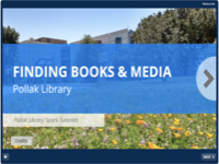 Spark TutorialL: Finding Books & Media [title card]