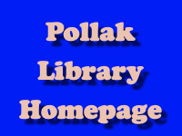Pollak Library Homepage [title card]