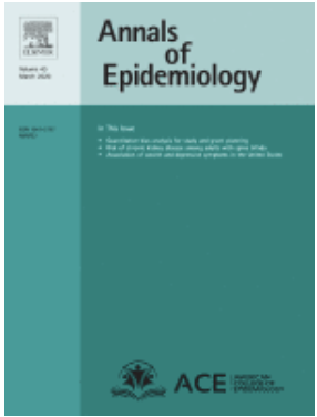 Image that links to Annals of Epidemiology