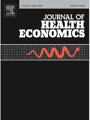 Image that links to the Journal of Health Economics