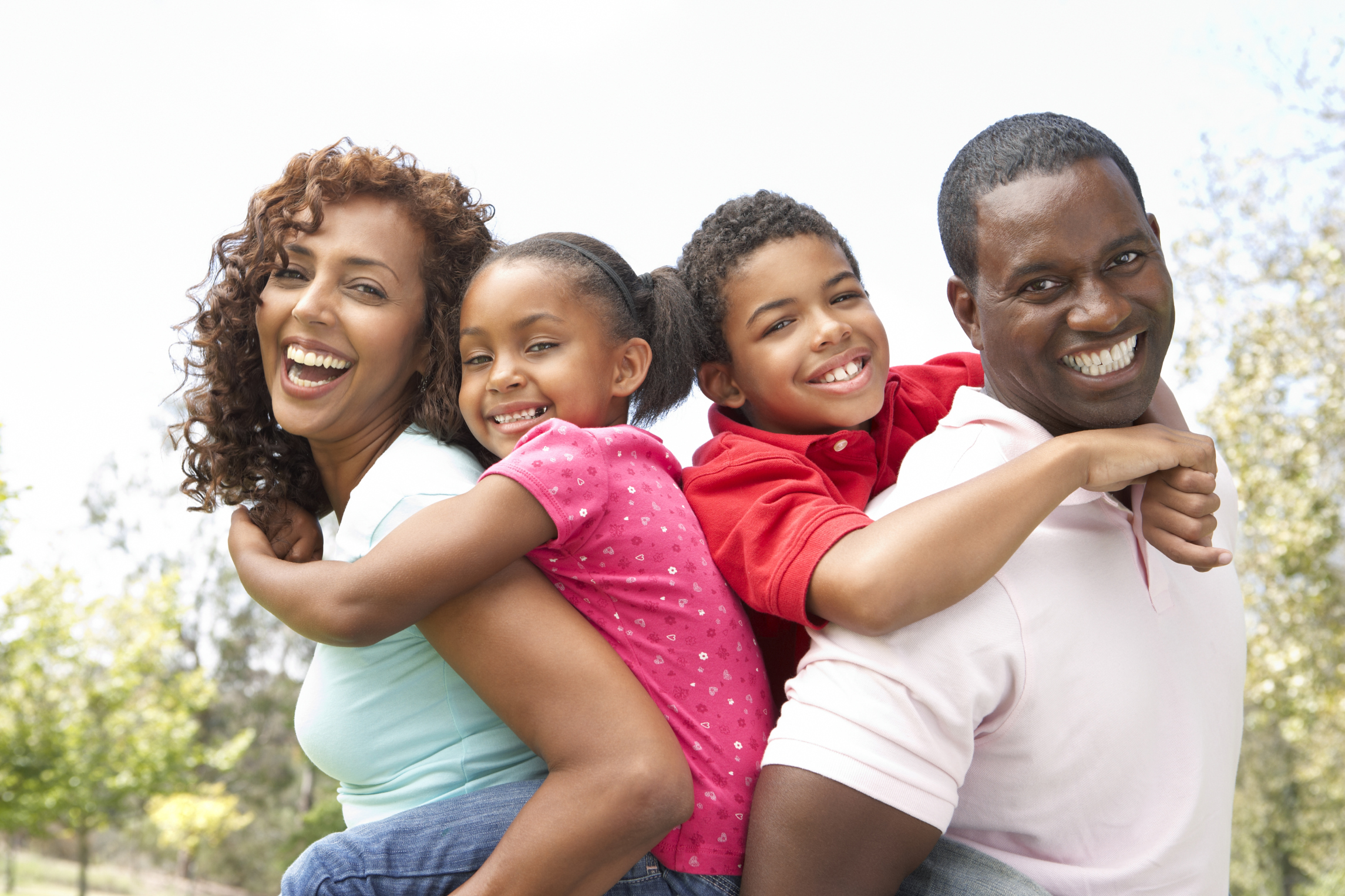 Picture of African American family