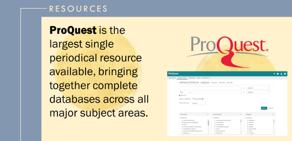 ProQuest Central Search Interface Image