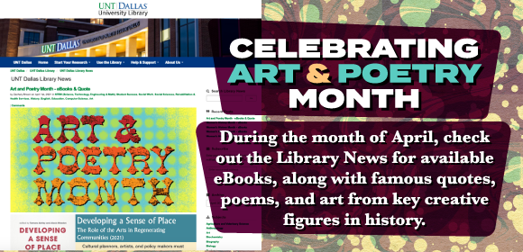 Celebrating Art and Poetry Month image
