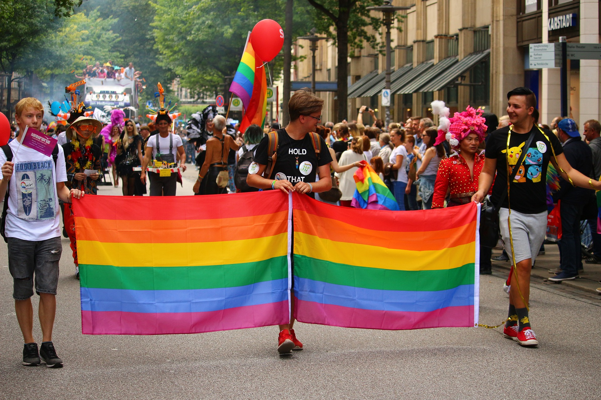 LGBT Parade March Photo