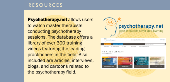 Psychotherapy.net database screenprint