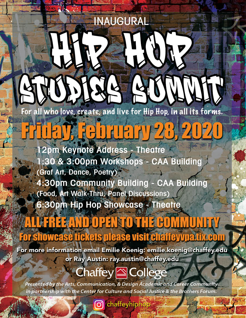 Hip Hop Studies Summit Flyer