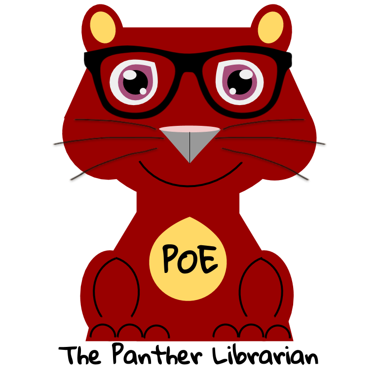 poe the panther librarian profile pic