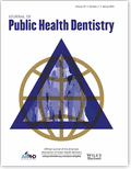 Journal of Public Health Dentistry