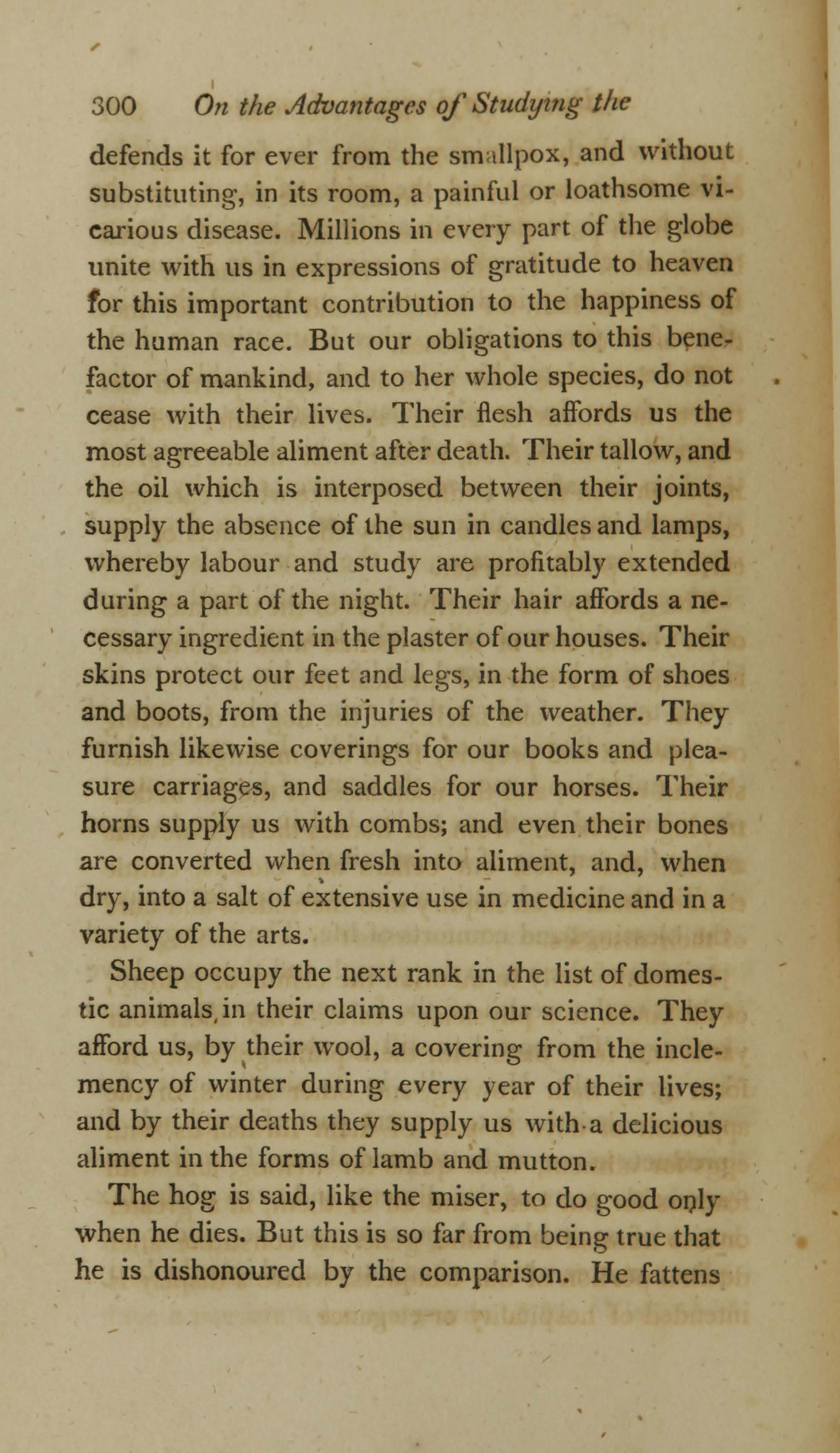 On the Duty and Advantages of Studying the Diseases of Domestic Animals (page 6)