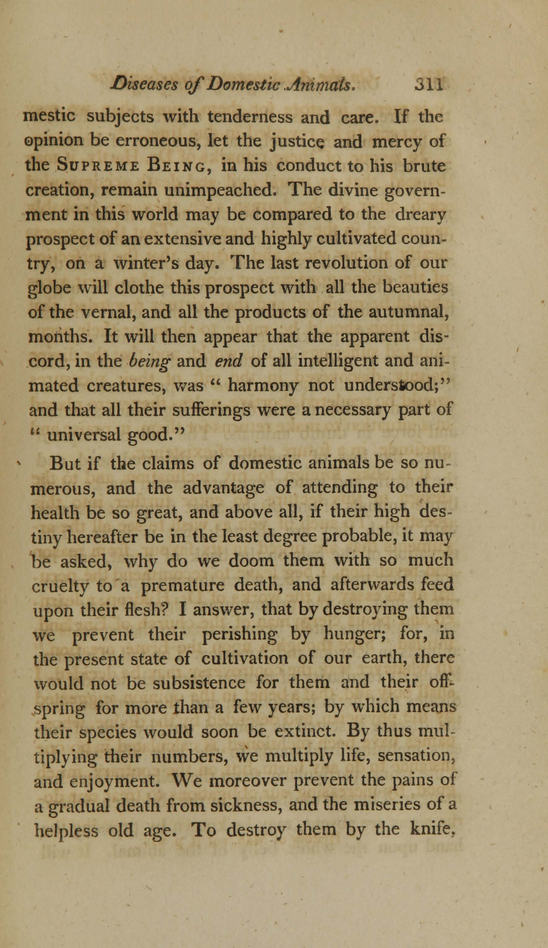 On the Duty and Advantages of Studying the Diseases of Domestic Animals (page 17)