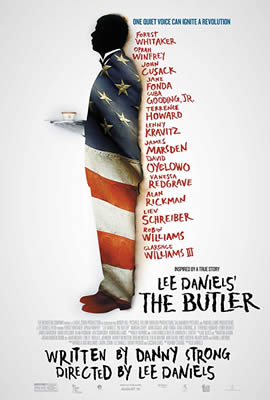 Lee Daniels' The Butler cover