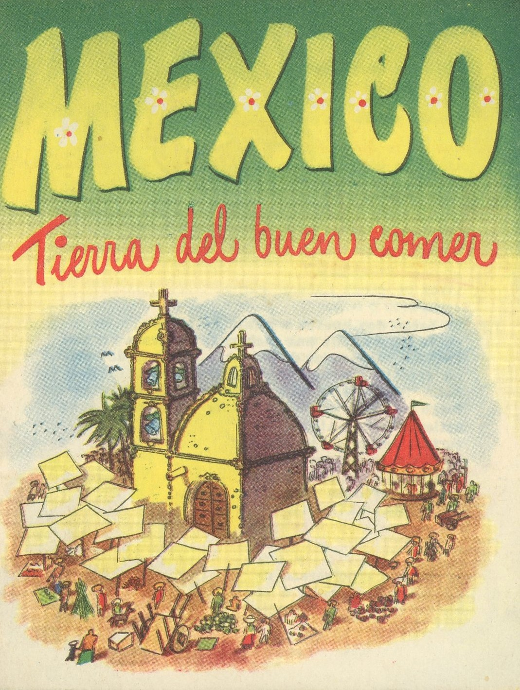 Cover for Mexico: tierra del buen comer