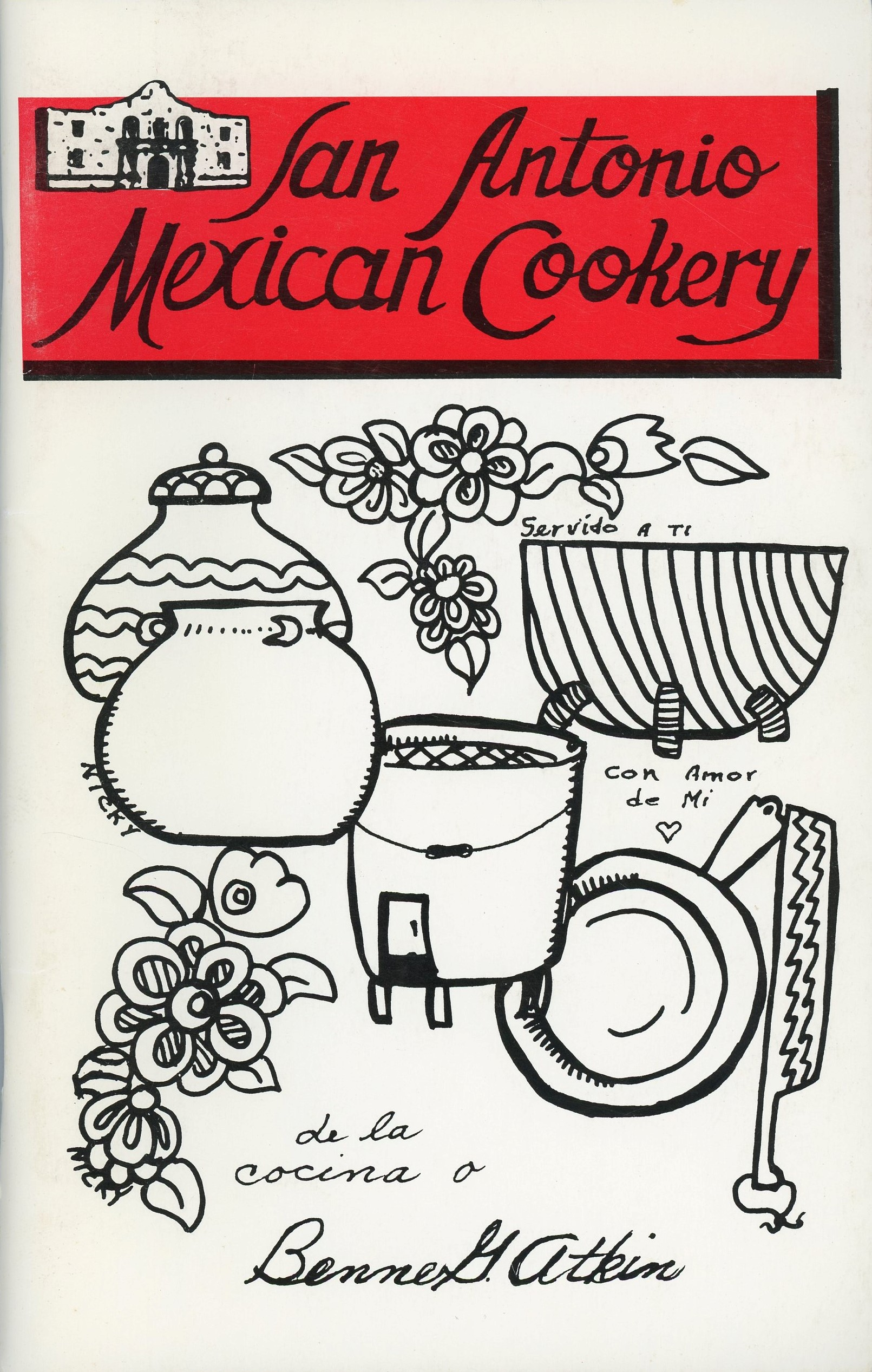 Cover for  San Antonio Mexican cookery