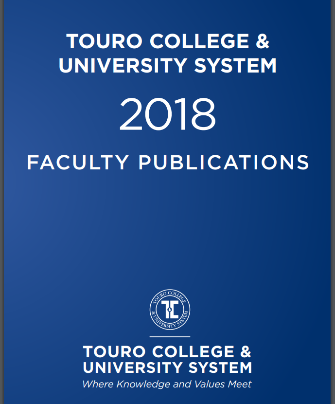 TCUS 2018 Faculty Publications cover image