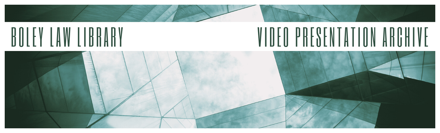 Boley Video Archives Banner