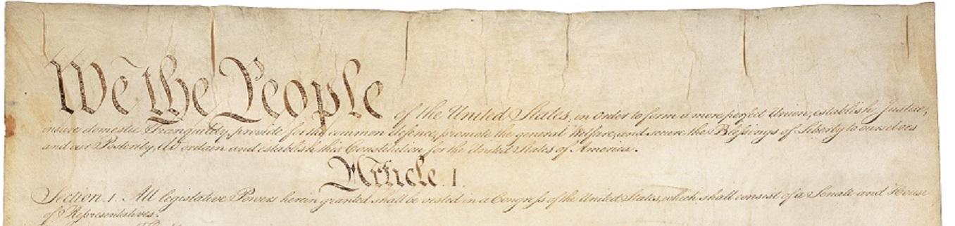 Constitution Banner