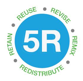 Revise, Reuse, Remix, Retain, Redistribute