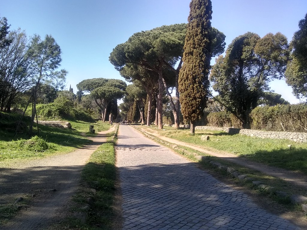 Photograph of the Appian Way, Rome
