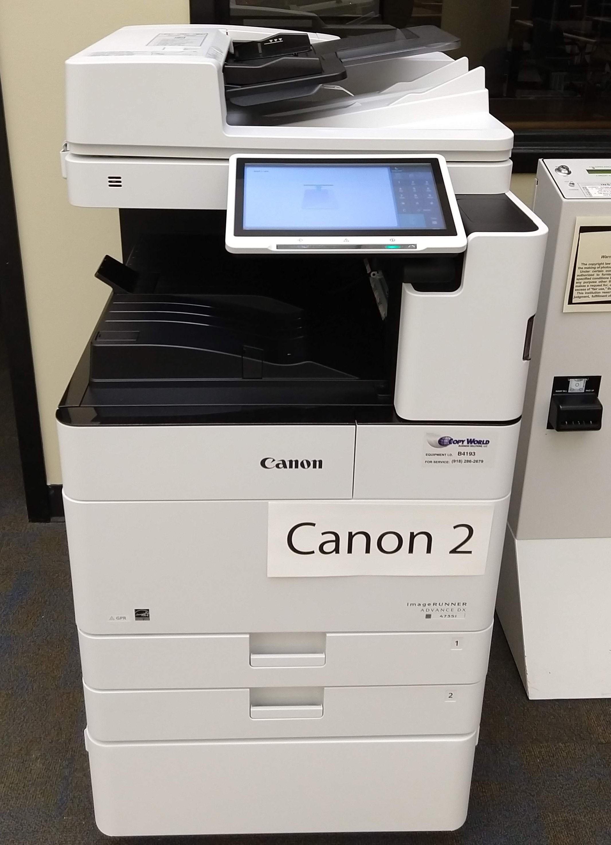 New Canon Printers
