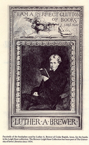 Luther Brewer's Bookplate