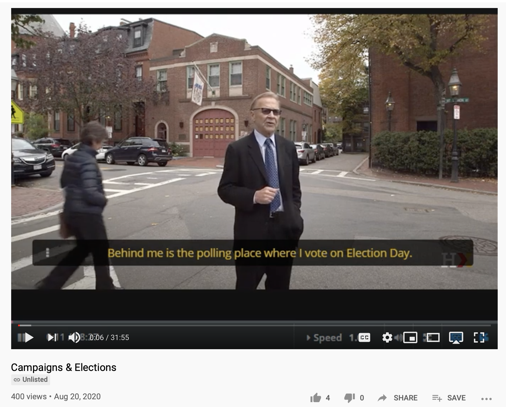 Video from Harvard Professor, William Patterson, on Campaigns & Elections available on YouTube and his HarvardX/EdX page.