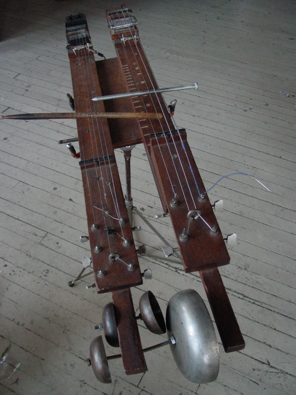 Pencillina, an experimental musical instrument