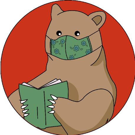 bear in fask mask