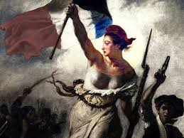 Marianne and the French Repiblic by Eugene Delacroix