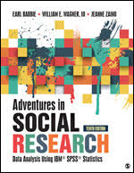 Cover image of Adventures in Social Research book