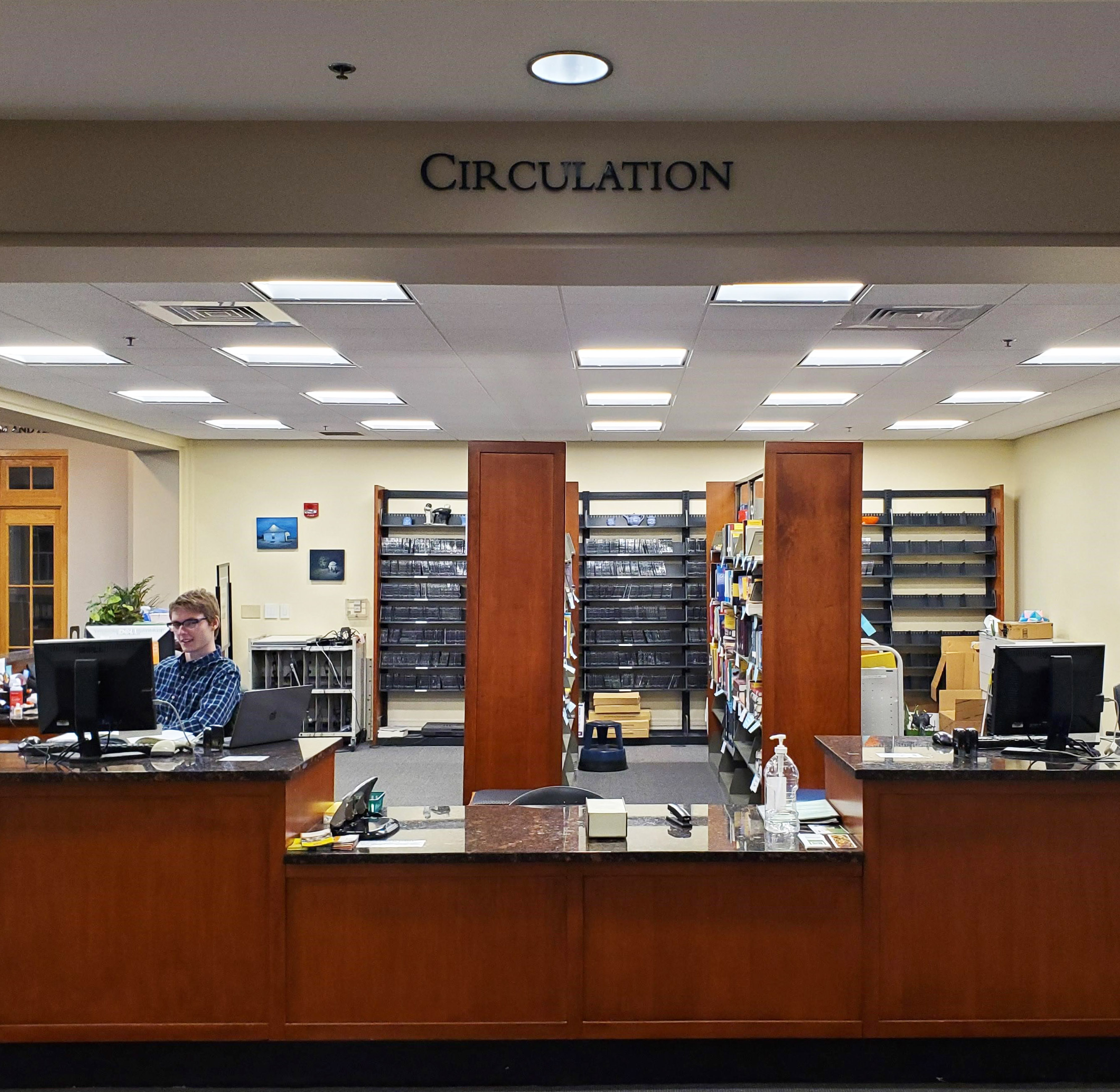 image of circulation desk