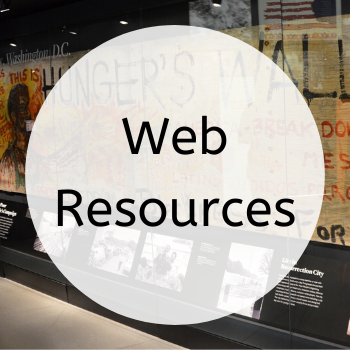 button to get to the Web Resources page