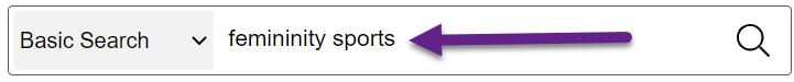 search = femininity sports