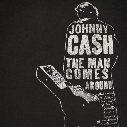 "album cover - Johnny Cash ""The Man Comes Around"""