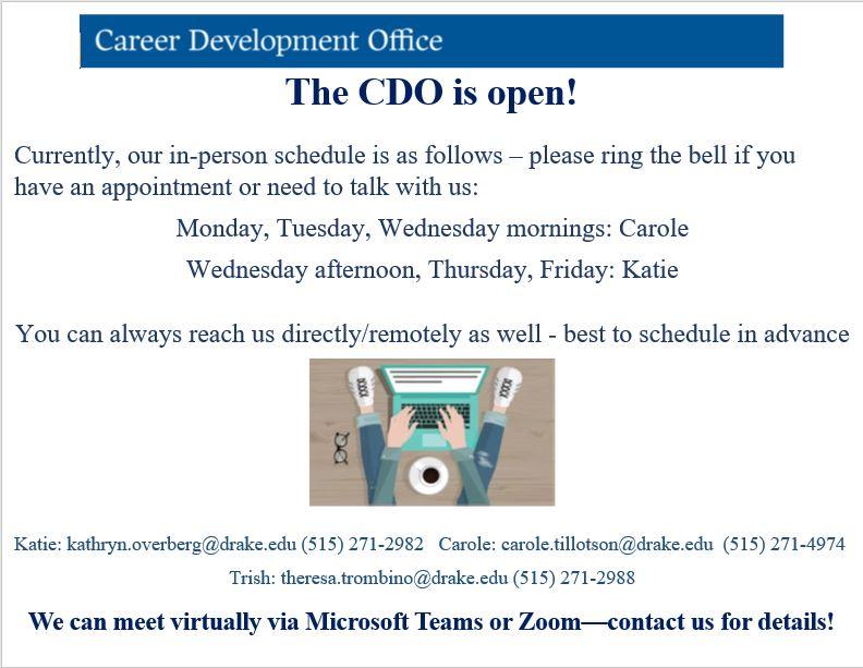 CDO COVID services