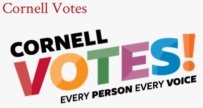 Cornell Votes! Every Person. Every Voice.