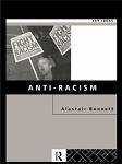 Cover for Anti-Racism, by Alastair Bonnett