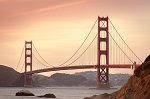 Photo of Golden Gate Bridge by Pixabay user Free-Photos